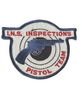INS INSPECTIONS PISTOL TEAM RARE PATCH FREE SHIPPING!