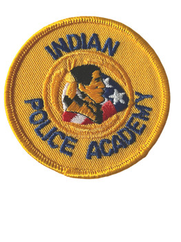 INDIAN POLICE ACADEMY  PATCH FREE SHIPPING!
