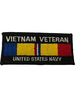 VIETNAM VETERAN U.S. NAVY PATCH FREE SHIPPING