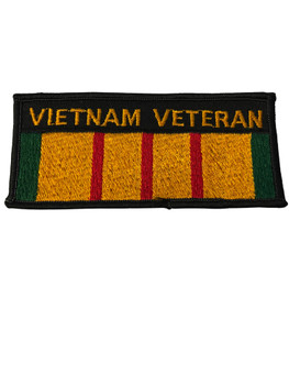 VIETNAM  VETERAN PATCH FREE SHIPPING!