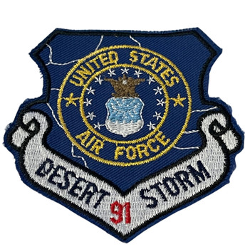 US AIR FORCE DESERT STORM '91 PATCH FREE SHIPPING!