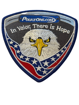 POLICE ONE  IN VALOR THERE IS HOPE PATCH FREE SHIPPING!
