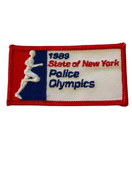 NEW YORK POLICE OLYMPICS 1989 PATCH FREE SHIPPING!