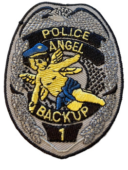 POLICE BACKUP ANGEL PATCH FREE SHIPPING!