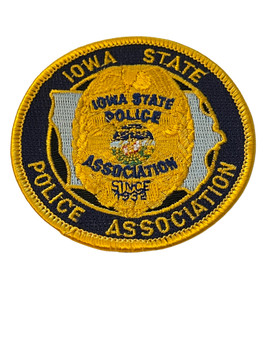 IOWA STATE POLICE ASSOCIATION  PATCH FREE SHIPPING!