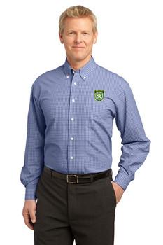 SEMINOLE Port Authority® Plaid Pattern Easy Care Shirt