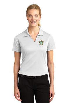 SEMINOLE Sport-Tek® Ladies Dri-Mesh® V-Neck Polo