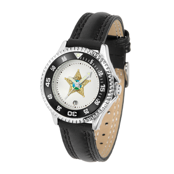 SEMINOLE COMPETITOR LADIES LEATHER WATCH