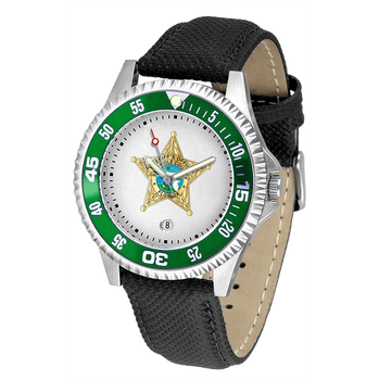 SEMINOLE COMPETITOR MENS LEATHER WATCH