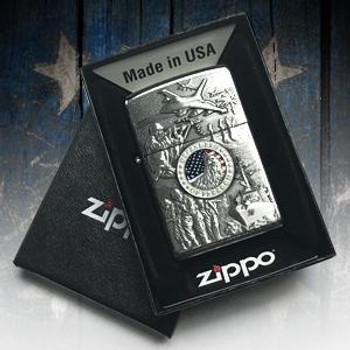 ZIPPO HEREOS LIGHTER  FREE SHIPPING!