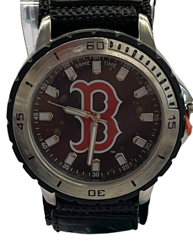 Boston Red Sox Logo Game Time Watch New