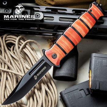 USMC COMBAT FIGHTER POCKET KNIFE