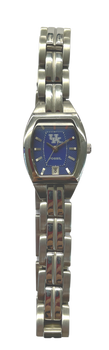 UNIV. OF KENTUCKY Fossil Watch LADIES Three Hand Date