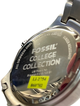 UNIV. OF ALABAMA Fossil Watch Mens Three Hand Date