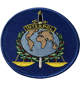 INTERPOL   PATCH FREE SHIPPING!