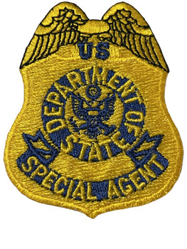 DEPARTMENT OF STATE SPECIAL AGENT PATCH FREE SHIPPING!