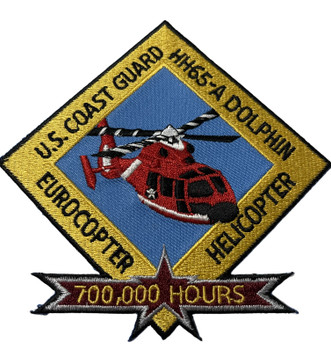 U.S. COAST GUARD HELICOPTER PATCH FREE SHIPPING RARE