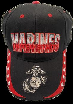 U. S. Marine Corps Official Hat 3-d Letters EGA