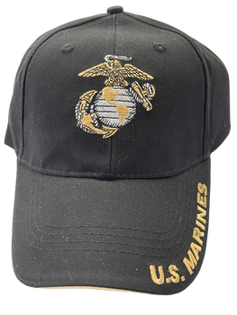 MARINE CORPS HAT EAGLE GLOBE & ANCHOR  BACK SEMPER FI