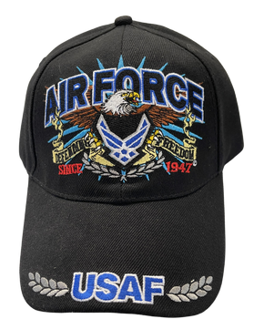 EAGLE AIR FORCE HAT USAF BRIM
