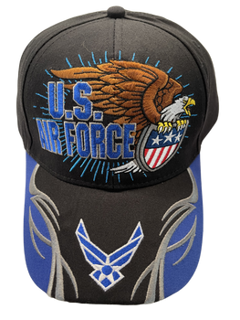 Air Force Military Logo & Eagle Hat