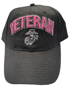 MARINE CORPS VETERAN LADIES HAT