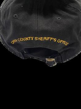 CRISP CTY SHERIFF HAT3-D