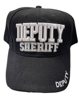 DEPUTY SHERIFF HAT 3-D BACK WORDS DEPUTY SHERIFF