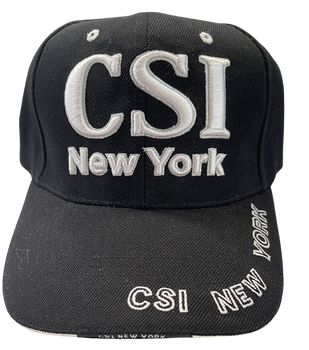 CSI NEW YORK 3-D HAT