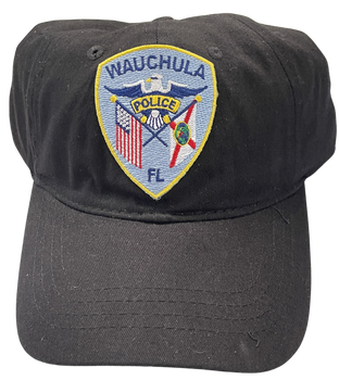 WAUCHULLA  POLICE FL PATCH HAT