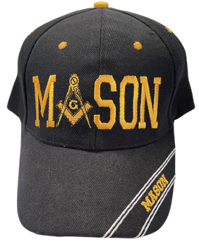 MASONIC MASON LOGO HAT