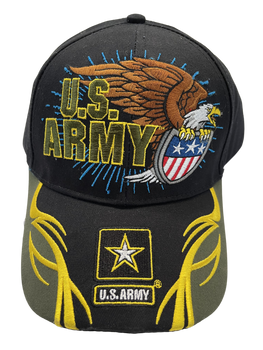 ARMY HAT EAGLE WITH SHIELD