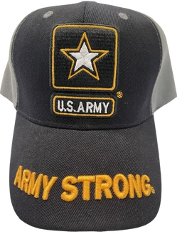 ARMY HAT ARMY STRONG 3-D AND LOGO