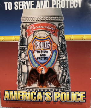 2002 Budweiser To Serve And Protect Stein/ America's Police