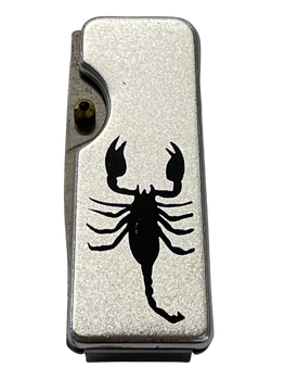 STEEL MONEY CLIP SCORPION KNIFE