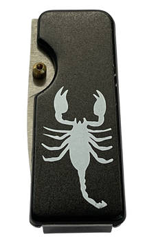 MONEY CLIP SCORPION KNIFE  BLACK