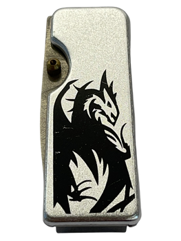 MONEY CLIP DRAGON KNIFE  STEEL
