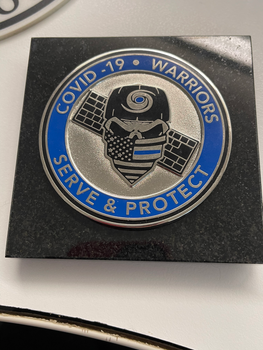COVID-19 WARRIORS Paper Weight of Distinction