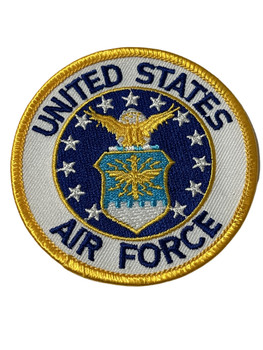 U.S. AIR FORCE PATCH FREE SHIPPING!