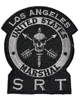 U.S. MARSHAL LOS ANGELES SRT PATCH FREE SHIPPING!