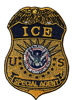 ICE SPECIAL AGENT CAP PATCH FREE SHIPPING!