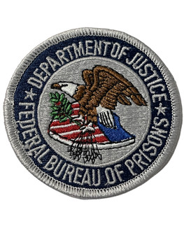 FEDERAL BUREAU OF PRISONS  PATCH FREE SHIPPING!