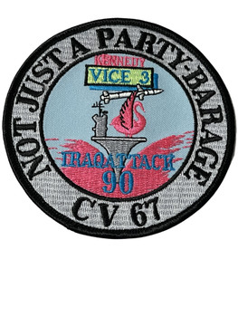 US NAVY CV-67 KENNEDY IRAQ  PATCH FREE SHIPPING!