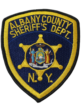 ALBANY COUNTY SHERIFF NY PATCH FREE SHIPPING!