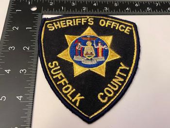 SUFFOLK COUNTY SHERIFF PATCH 2
