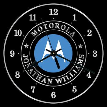 """Motorola 10"""" CLOCK"""