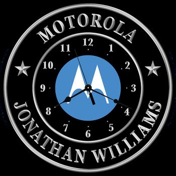 """Motorola 15"""" CLOCK"""