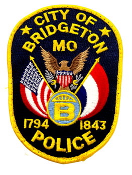 BRIDGETON POLICE MO PATCH