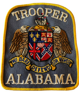 ALABAMA STATE TROOPER  PATCH