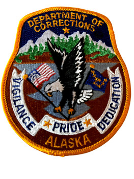 ALASKA DEPT. OF CORRECTIONS  PATCH